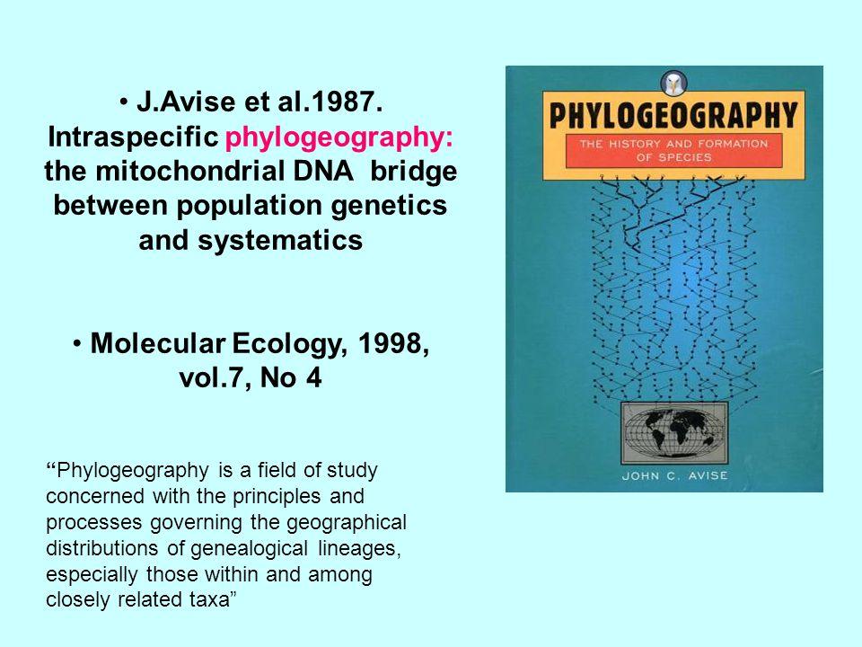 J.Avise et al.1987.
