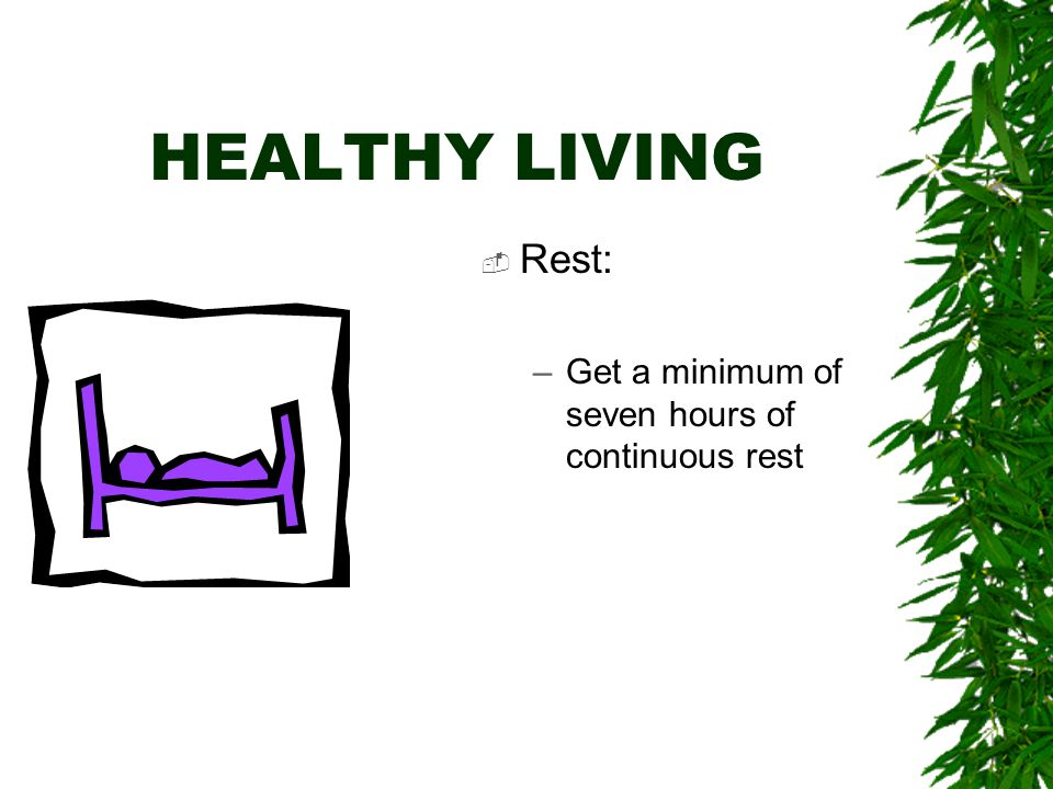 HEALTHY LIVING TO CONQUER STRESS  Examine your diet –Lower your salt intake –Lower your intake of refined sugars and carbohydrates –Lower your caffeine intake  Add to your diet –Vegetables –Fruits –Complex Carbohydrates –Vitamins –Water