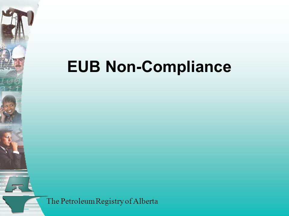 The Petroleum Registry of Alberta EUB Non-Compliance