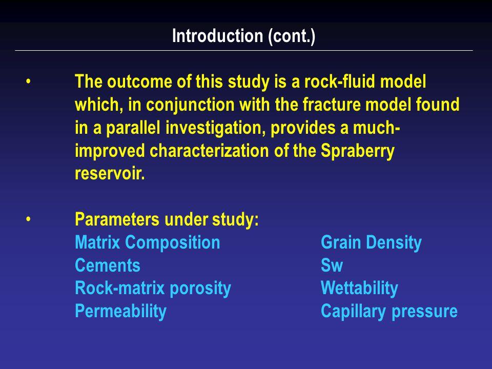 3. Petrophysics: Rock-Fluid Model