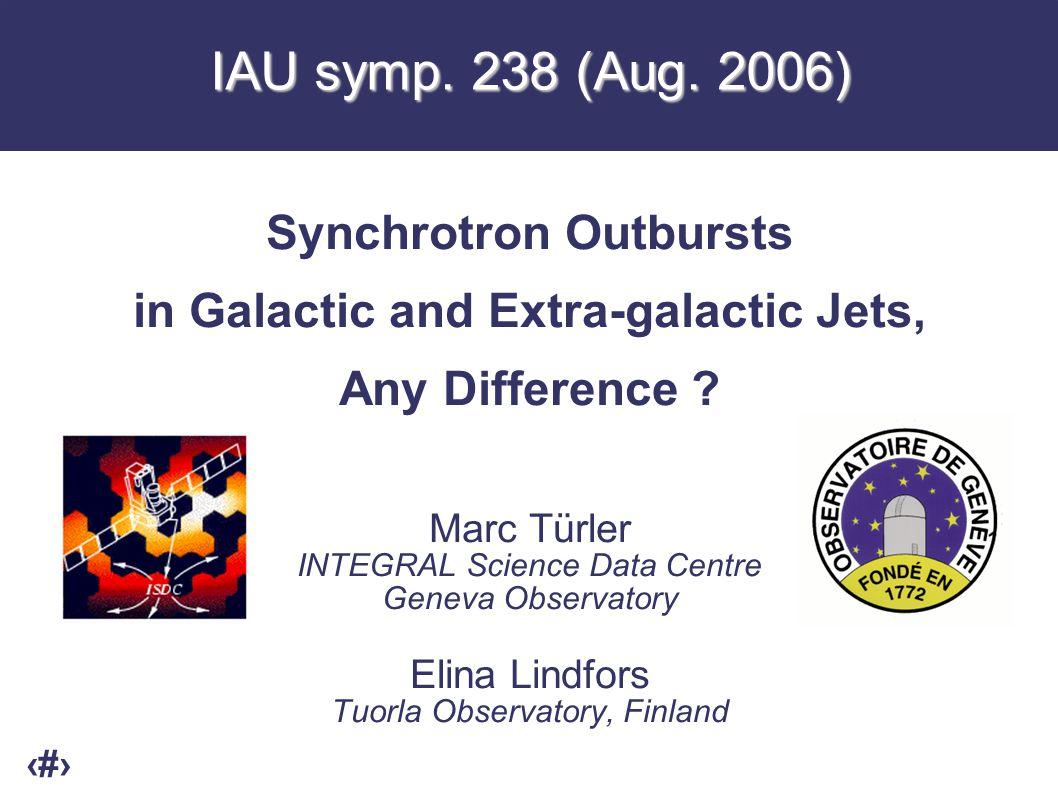 1 IAU symp. 238 (Aug.