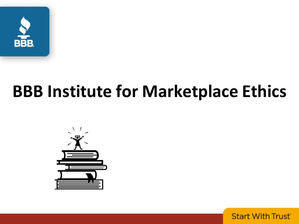 BBB Institute for Marketplace Ethics