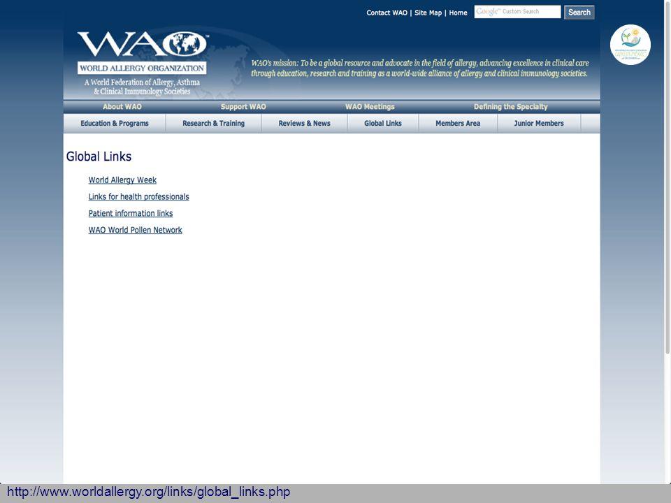 http://www.worldallergy.org/links/global_links.php