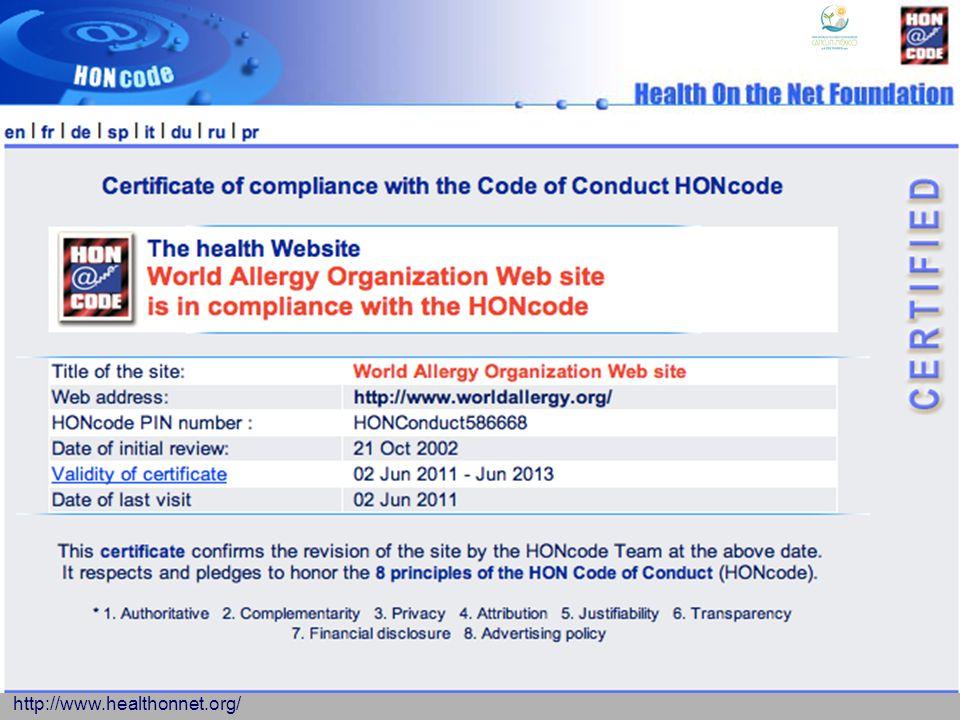 http://www.healthonnet.org/