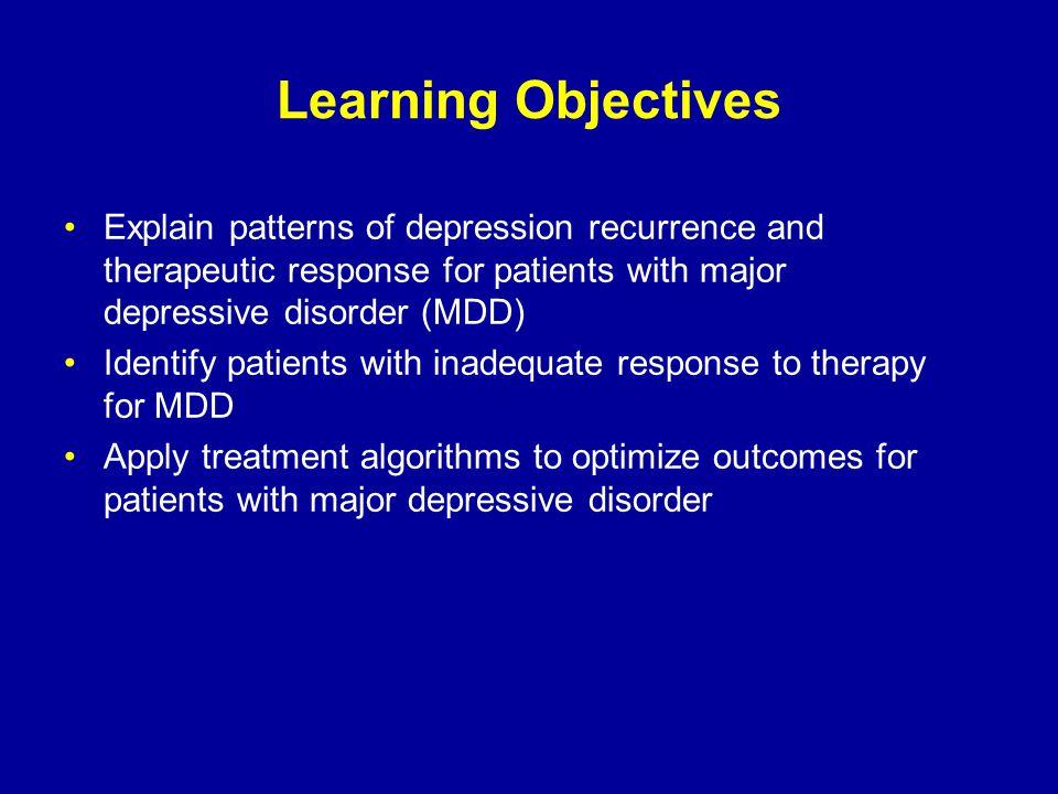 Treatment Outcome: Level 1 HAM-D-17 = 17-item Hamilton Rating Scale for Depression QIDS-SR-16 = 16-item Quick Inventory of Depressive Symptomatology – Self-Report Trivedi M, et al.