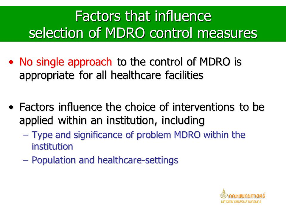 Other Questions Impact on other MDRO from interventions targeted to one MDROImpact on other MDRO from interventions targeted to one MDRO CostsCosts Fe