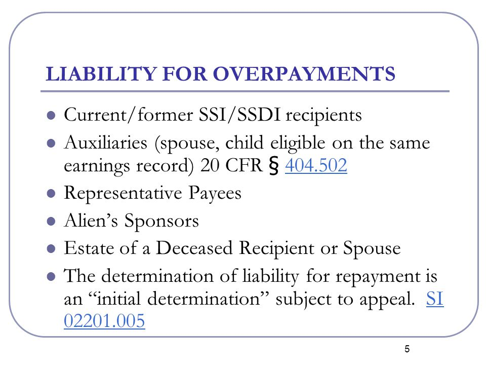 16 NO RECOUPMENT WHILE WAIVER IS PENDING Recoupment must stop once a waiver request is filed and cannot resume until the initial waiver decision.
