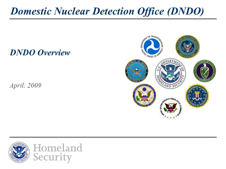 22 Summary  Critical vulnerabilities in the existing architecture have been identified and alternatives are being developed  DNDO maintains an aggressive system development and acquisition process to rapidly deploy detection systems  DNDO has conducted several test series as well as red teaming operations to evaluate the effectiveness of technologies and deployed systems.
