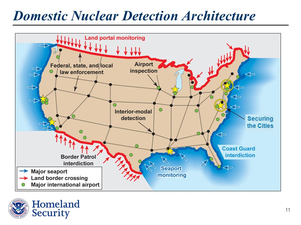 11 Domestic Nuclear Detection Architecture Securing the Cities