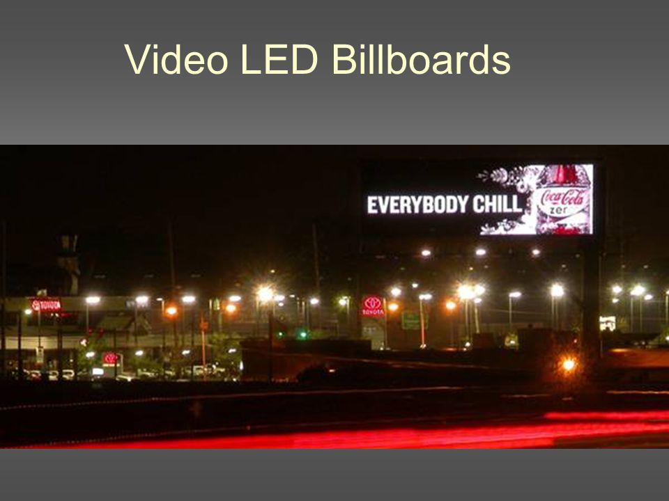 Video LED Billboards