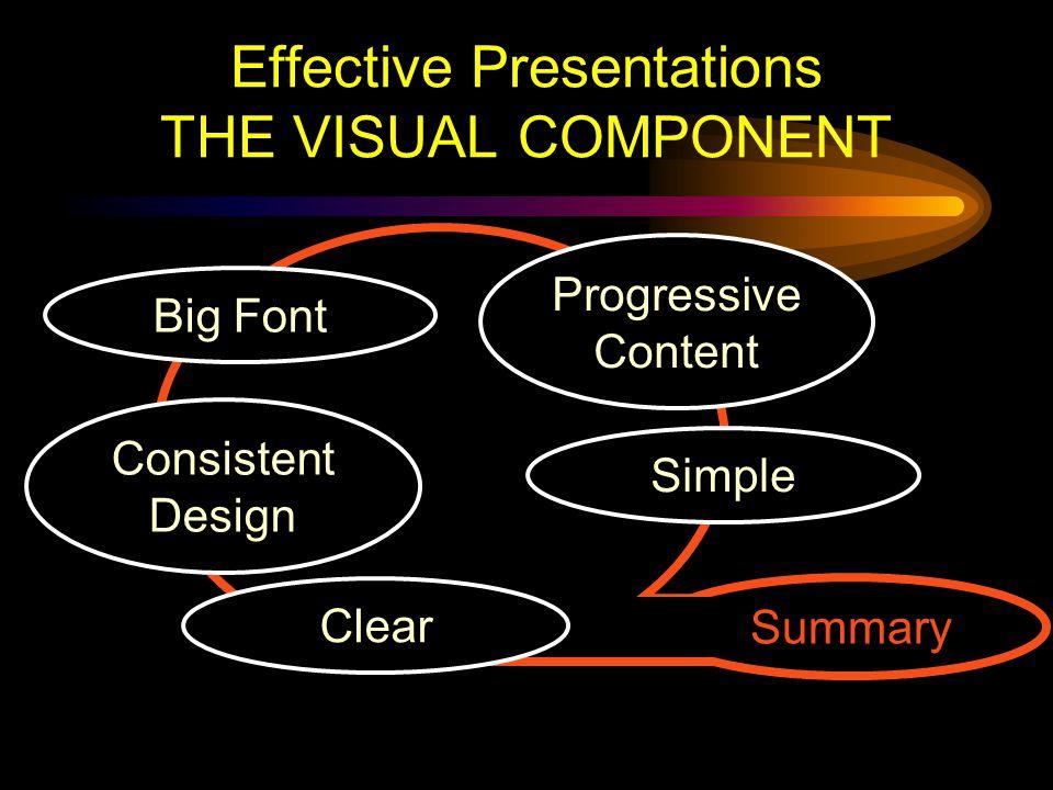 Designing Effective Presentations K.