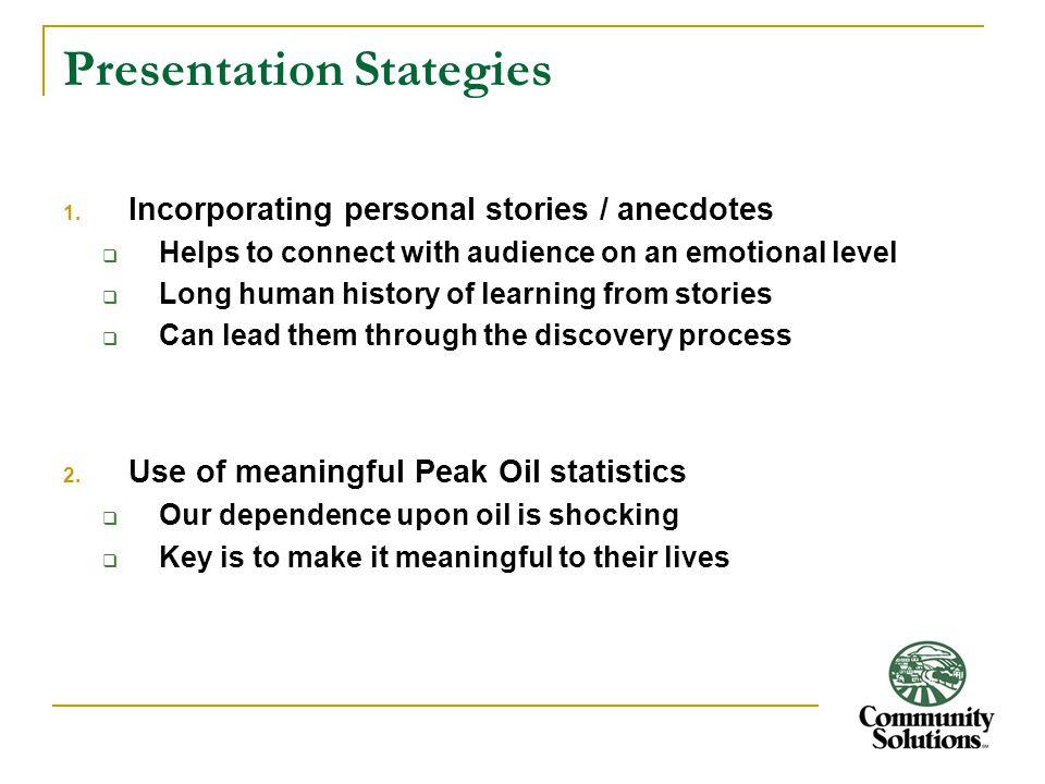 Presentation Stategies 1.