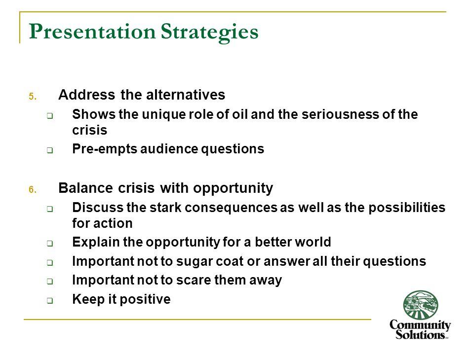Presentation Strategies 5.
