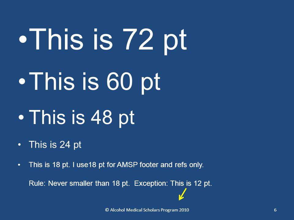 This is 72 pt This is 60 pt This is 48 pt This is 24 pt This is 18 pt.