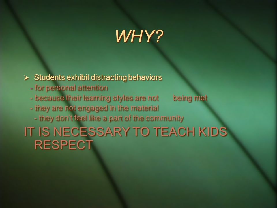 DISTRACTING BEHAVIORS  Distracting behaviors are behaviors that sidetrack you and divert attention of students from learning…..