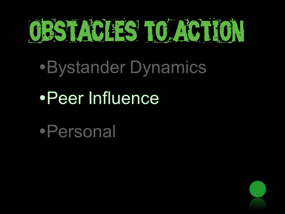  Bystander Dynamics  Peer Influence  Personal