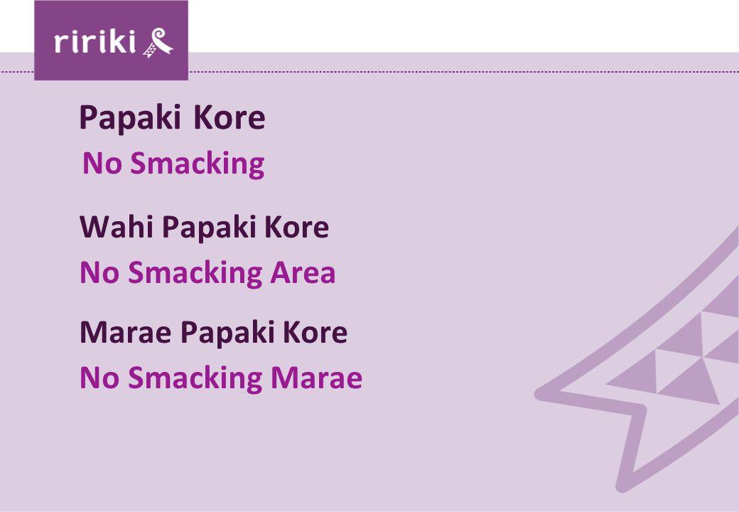 Papaki Kore No Smacking Wahi Papaki Kore No Smacking Area Marae Papaki Kore No Smacking Marae