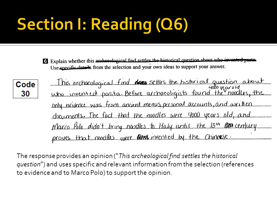  These questions are used to assess your understanding of grammar and language conventions.