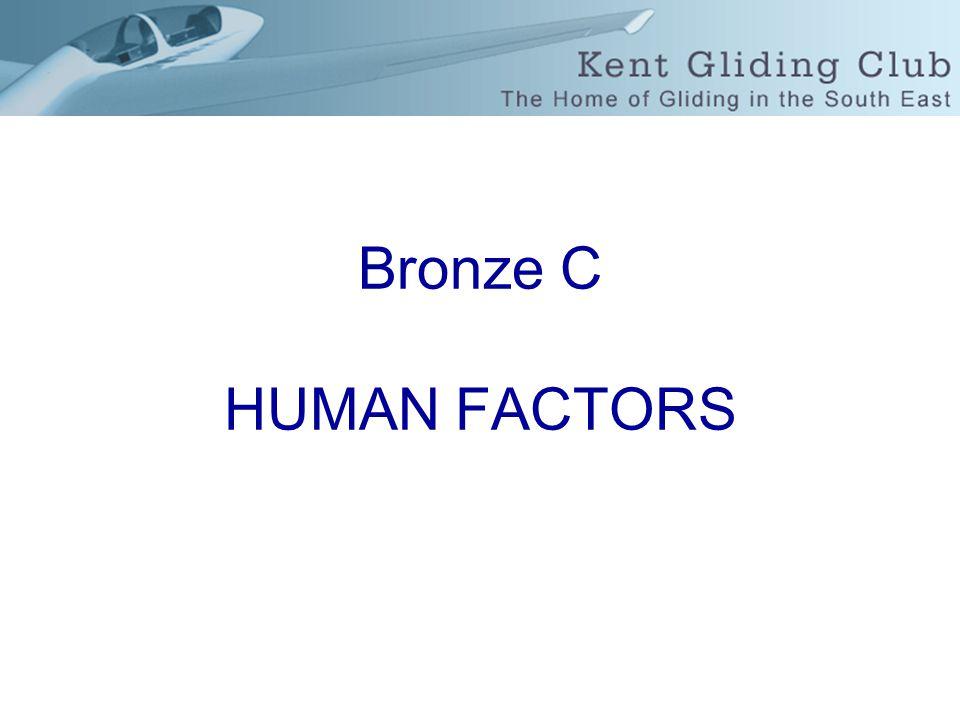 Bronze C HUMAN FACTORS
