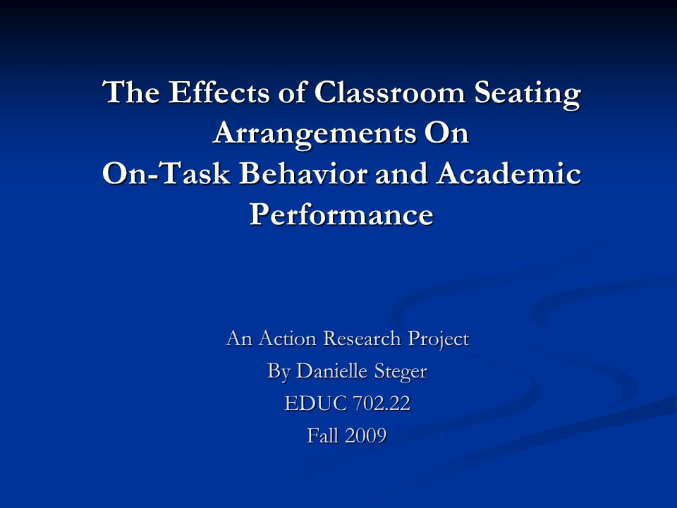 Review of Related Literature CONS: Arguments Against Row Seating Row seating impedes a teachers ability to walk between student desks and assess learning.