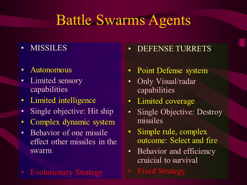 Complex Tactics: Convergent Approach Strength in numbers Less exposure to incoming fire Increase of spatial threat Decrease of temporal threat High Efficiency Low evasion Highly Masculine