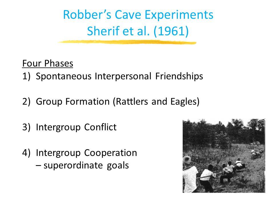 Robber's Cave Experiments Sherif et al.