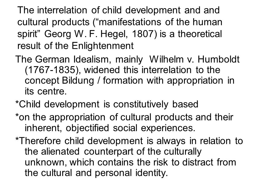 What educational questions are relevant on appropriation within the poles of cultural products and child development.