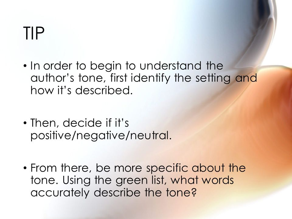 Tone is the_____________ a writer takes towards their topic.