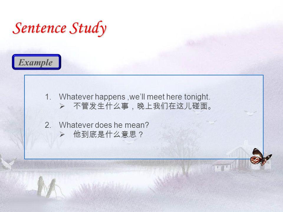  (L73) Whatever it is, dear, don't keep us in suspense.