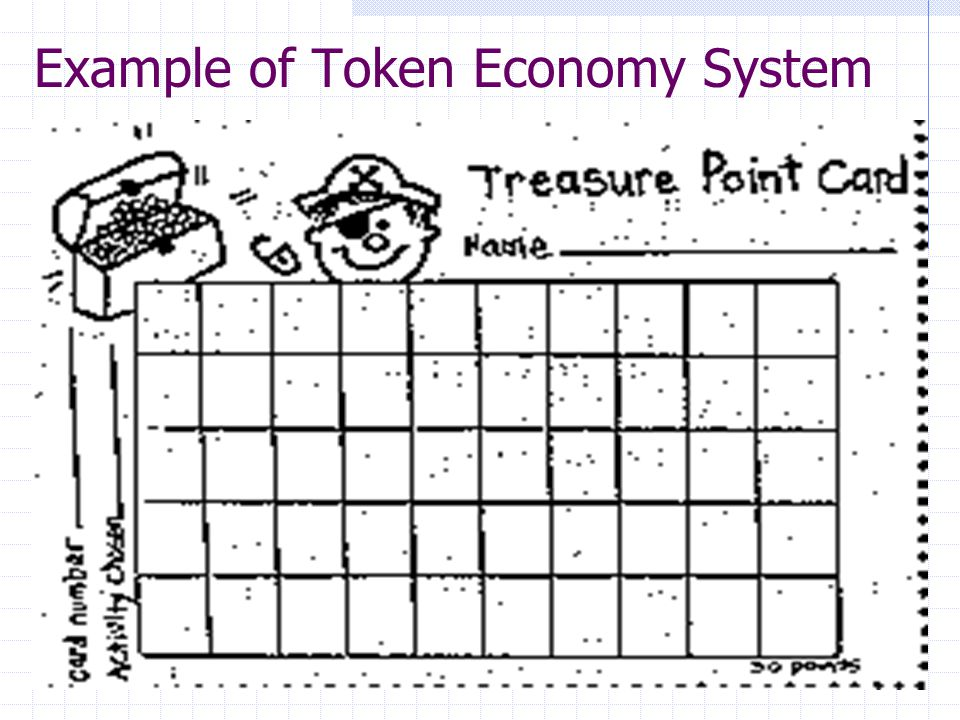 Phasing Out the Token Economy 2: Earning Off the System Clients maintaining a specified standard of appropriate behavior should be allowed to get off the token system Clients earning a predetermined minimum no.