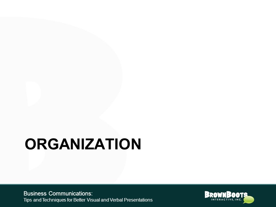 Preview Keys to Presentations with Pop 1.Organization 2.Design 3.Delivery Business Communications: Tips and Techniques for Better Visual and Verbal Presentations