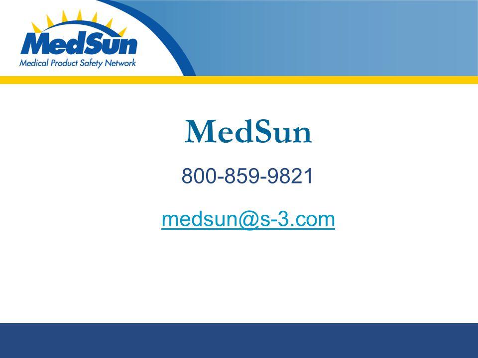 MedSun 800-859-9821 medsun@s-3.com