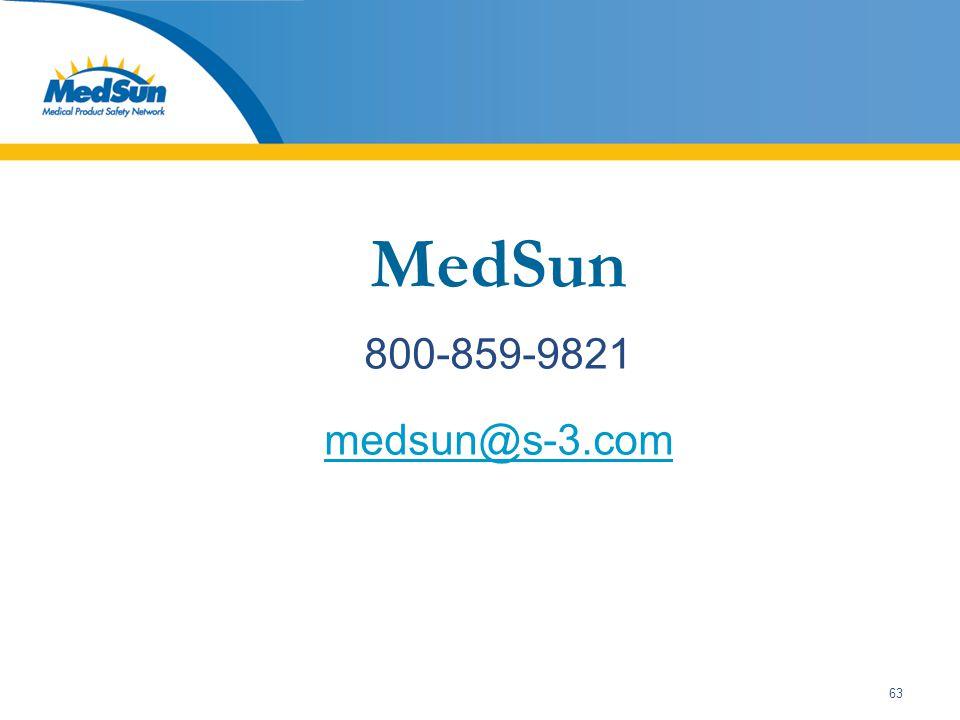 63 MedSun 800-859-9821 medsun@s-3.com