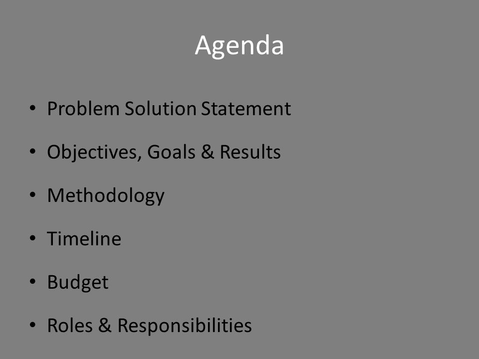 Organizational Skills Have an agenda – It adds a psychological advantage Use signposts – First, I'd like to discuss..