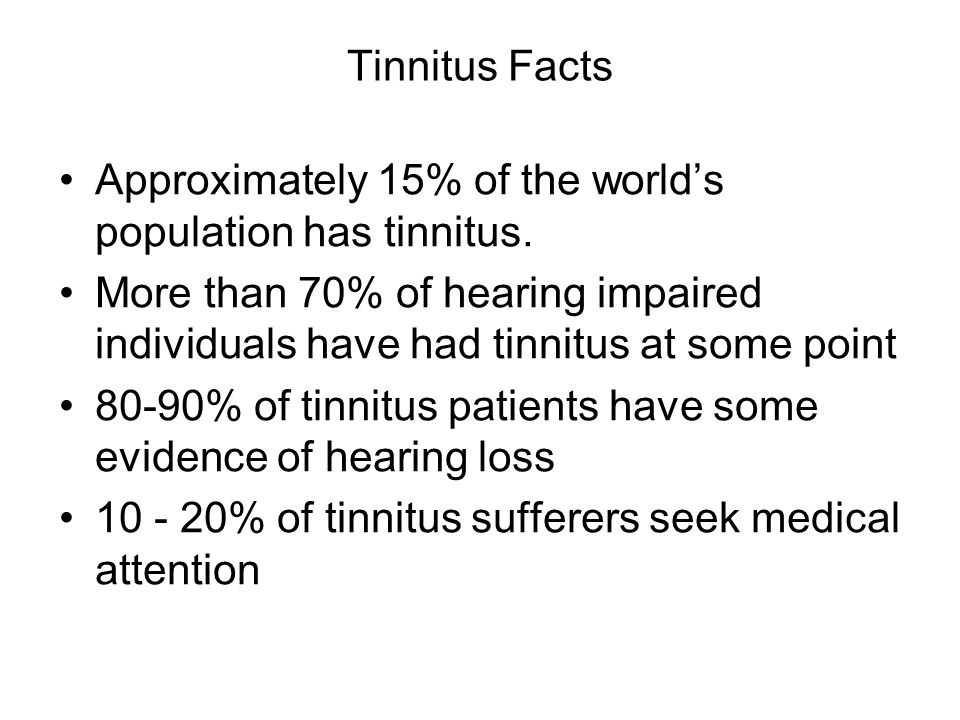 Figure 2. Incidence of tinnitus by age group. Kochkin et al, 2012