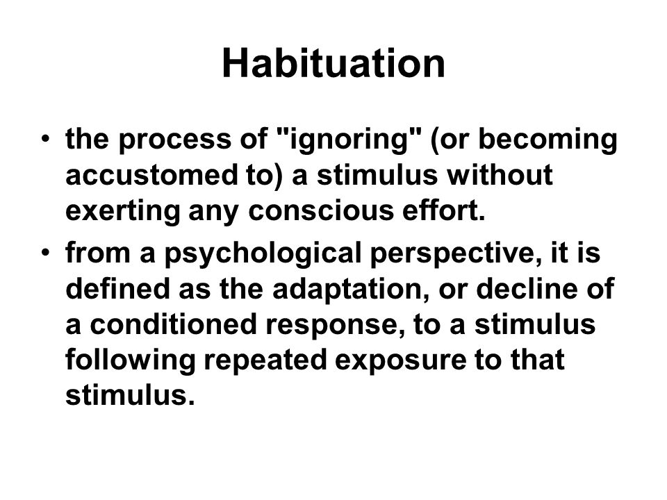 Basic assumptions The brain can sort out meaningful stimuli from those which are not Attention is directed toward salient or information-bearing stimuli