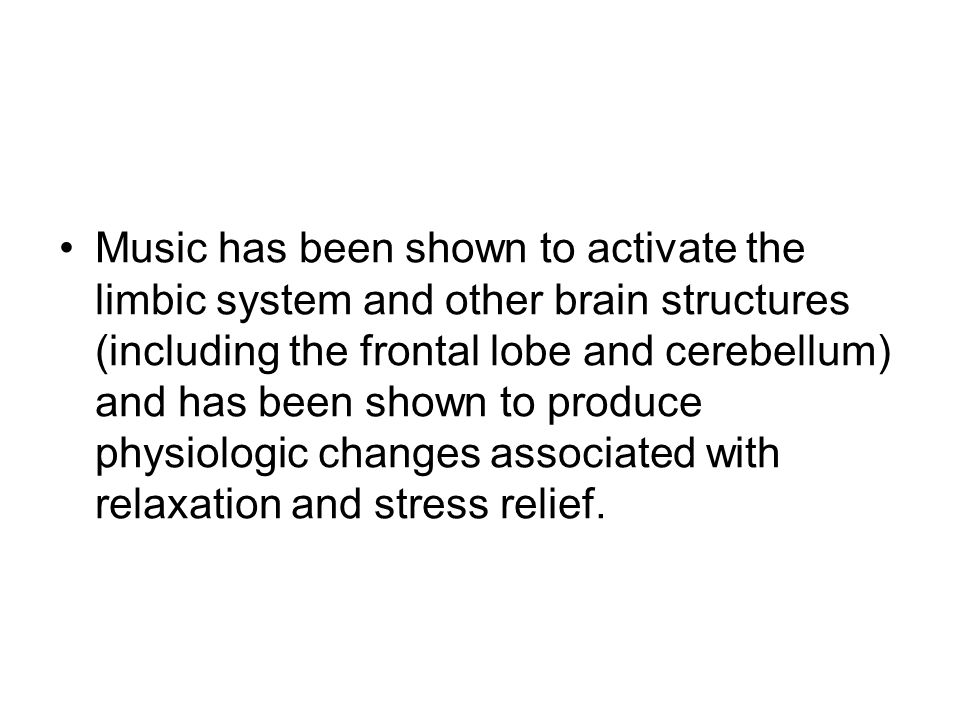 Where is music processed? Frontal Lobe