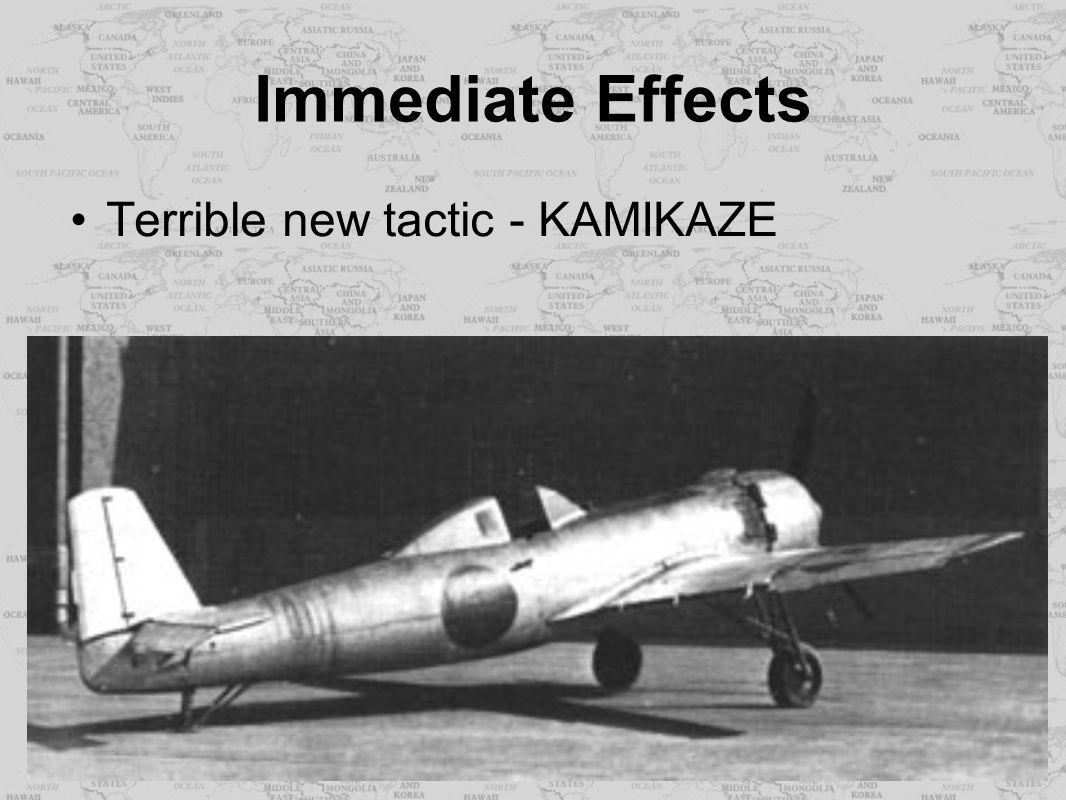 Immediate Effects Terrible new tactic - KAMIKAZE