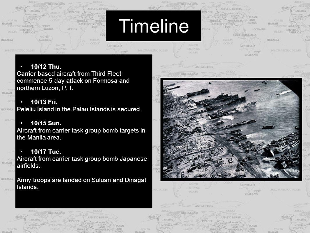 Sources http://www.chinfo.navy.mil http://history.acusd.edu http://www.angelfire.com/fm/odyssey/LEYTE_GULF_Summary_of_the_Battl e_.htmhttp://www.angelfire.com/fm/odyssey/LEYTE_GULF_Summary_of_the_Battl e_.htm http://www.battle-of-leyte-gulf.com http://www.worldwar2database.com Hey kids.