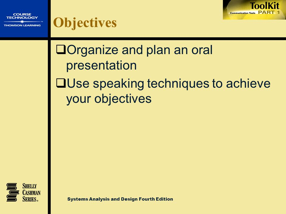 Systems Analysis and Design Fourth Edition Objectives  List the guidelines for successful communications  Explain the importance of effective letter