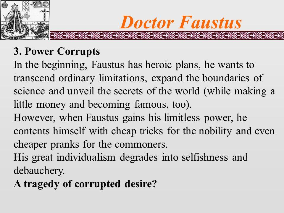 Doctor Faustus 3.