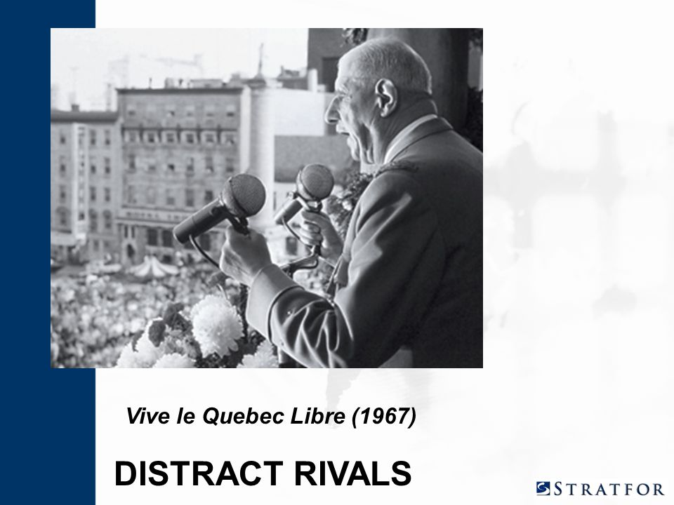 Vive le Quebec Libre (1967) DISTRACT RIVALS