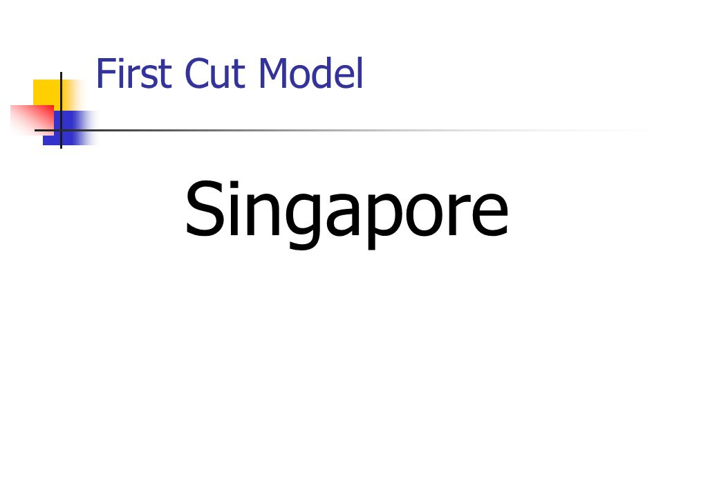 First Cut Model Singapore
