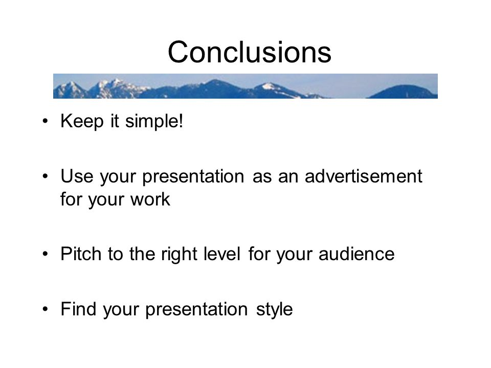 Presentation Outline I will show a variety of examples of presentation tools that may distract your audience, but they are still really fun to play wi