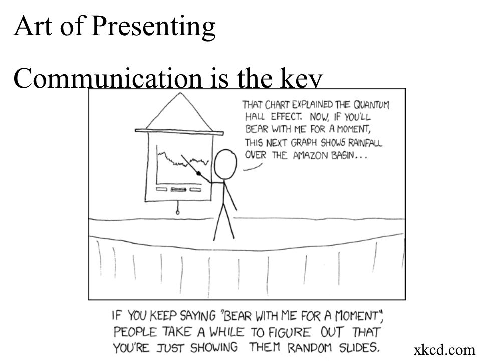 Art of Presenting Communication is the key Everyone has given or will give a bad presentation. Everyone has been or will be to a bad presentation. Thi
