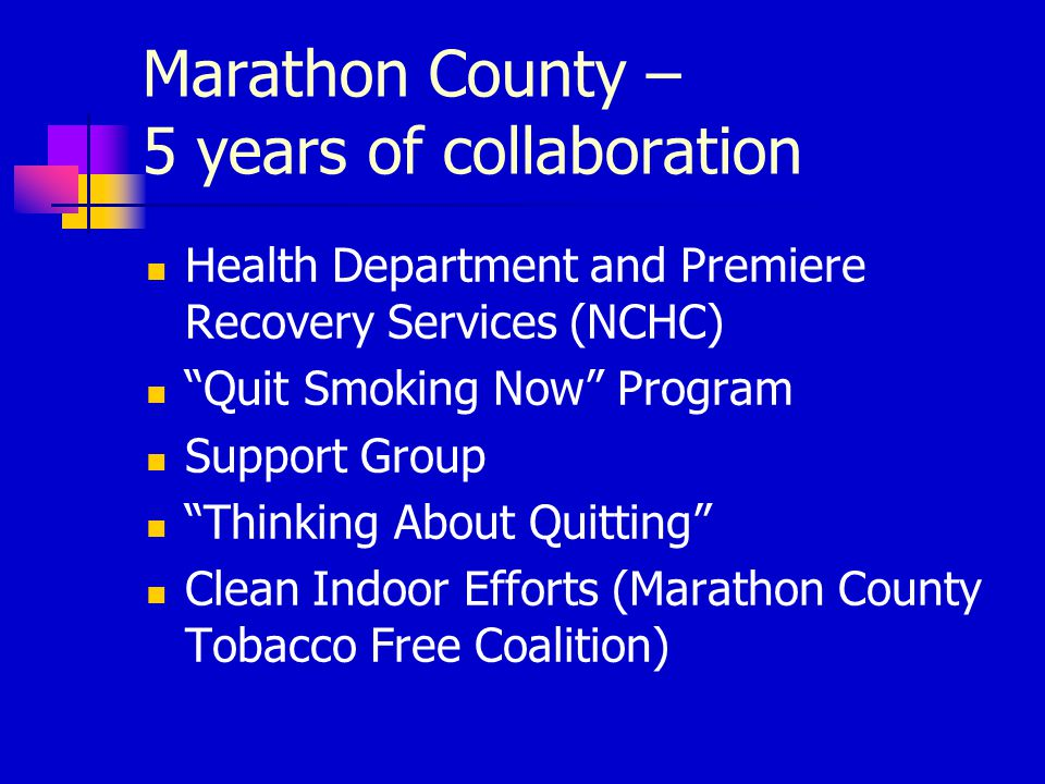 For new group members use the 5 A's Ask about tobacco use Advise them to quit
