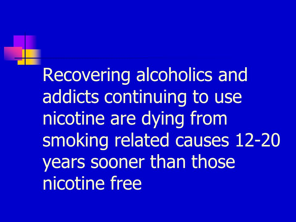 Certification as a specialist in Nicotine dependence available at the University of Florida and at Mayo Clinic