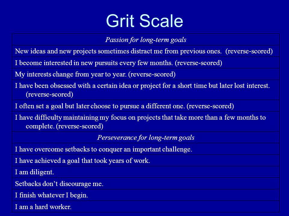 Study 2: Self-Discipline Gives Girls the Edge