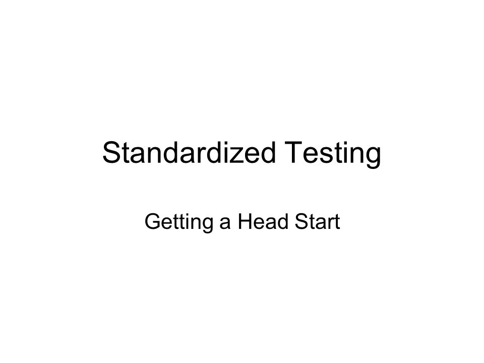 Why do we take all these tests.In grades 8-10, the tests change from diagnostic to preparatory.
