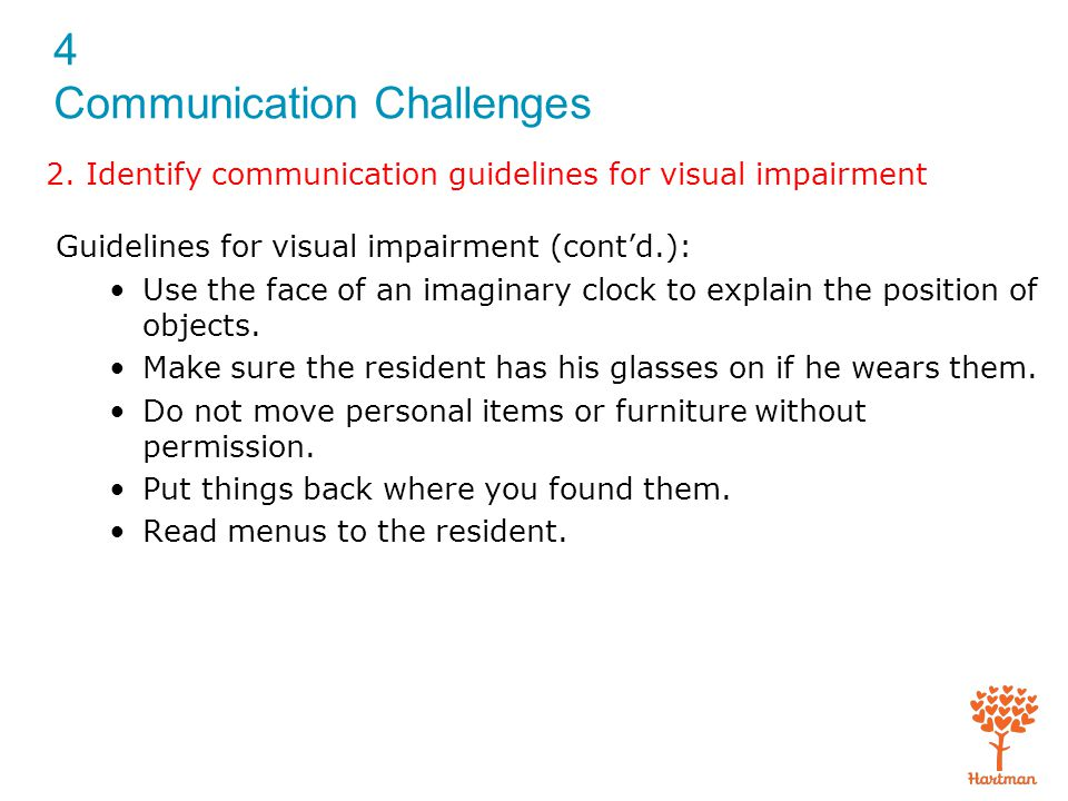 4 Communication Challenges 5.